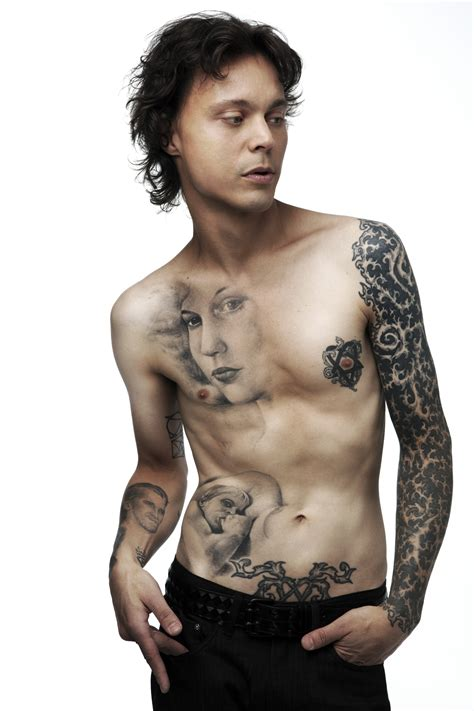 1st official post ville valo sleeve of flames