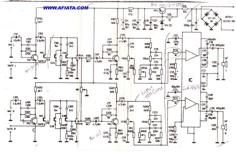 audio lifier circuit diagram with layout audio lifier electronic circuit diagram and layout