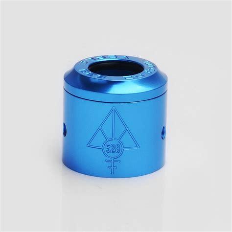 authentic 528 customs 24mm goon rda blue gloss top cap sleeve