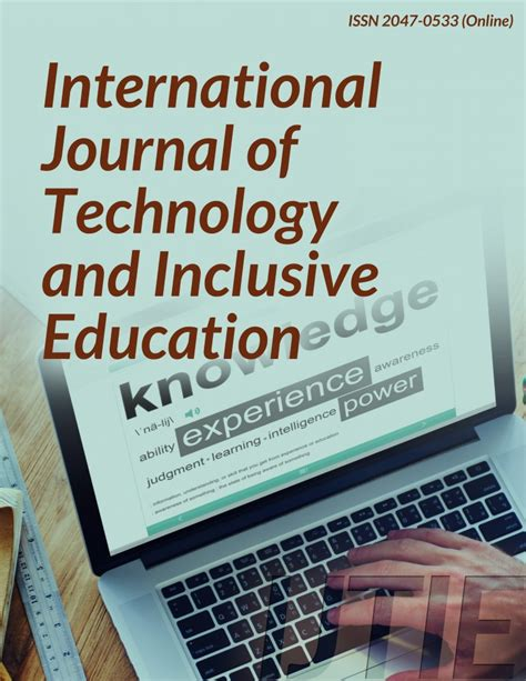 inclusive education research paper infonomics society international journal of technology and