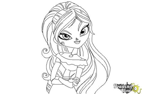 coloring pages the book of life how to draw maria from the book of life drawingnow