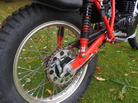 Shock Trail Montesa Honda 350cc Shock Trail Bike Stunning