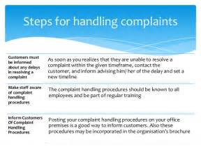 Customer Complaint Procedure Template by Customer Complaint Management