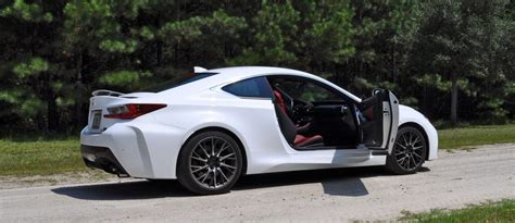lexus rcf white car of the year review 2015 lexus rc f