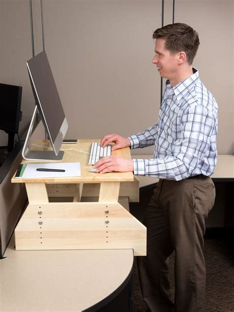 stand up desk diy 52 best images about stand up desk on adjustable height desk wall desk and standing
