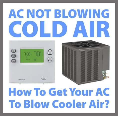 ac fan not blowing ac not blowing cold how to get air conditioner to