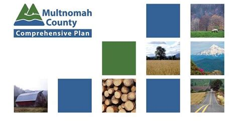 Multnomah County Records Comprehensive Plan Update Multnomah County