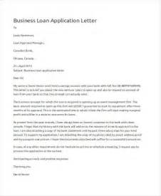 Letter For Business Loan 46 Application Letter Exles Sles