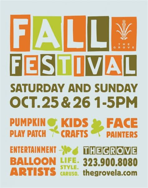 Fall Festival Flyer Template Free fall festival flyer template free shatterlion info