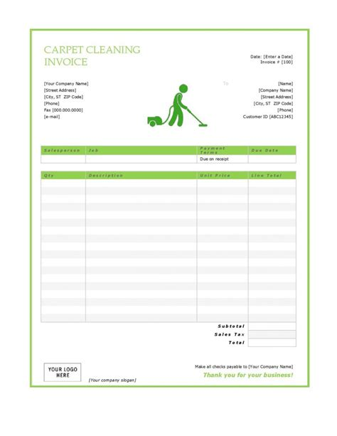 cleaning invoice template 27 blank invoice templates free word pdf psd