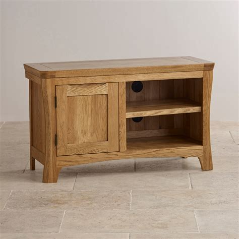 orrick rustic oak tv cabinet orrick tv cabinet in rustic solid oak oak furniture land