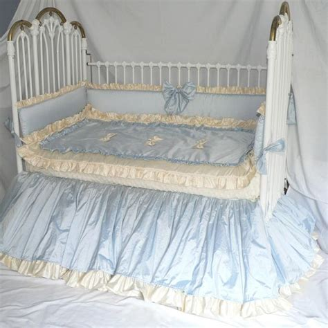 Blue Crib Bedding For Boys by Handmade Baby Boy S Blue Bliss Crib Bedding By Caty S