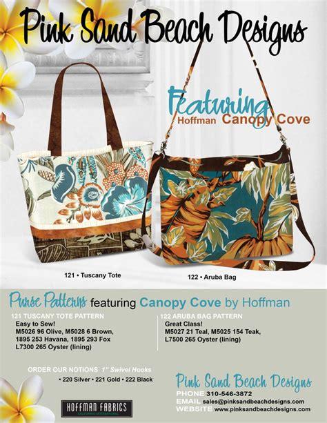 tuscany tote bag pattern pink sand beach designs purse sewing patterns aruba bag