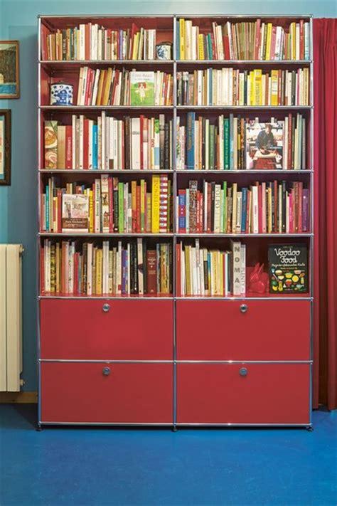 libreria a giorno componibile libreria a giorno componibile in metallo usm haller