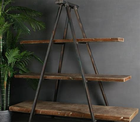 5 shelf trestle bookcase 1000 images about flea market on pinterest industrial