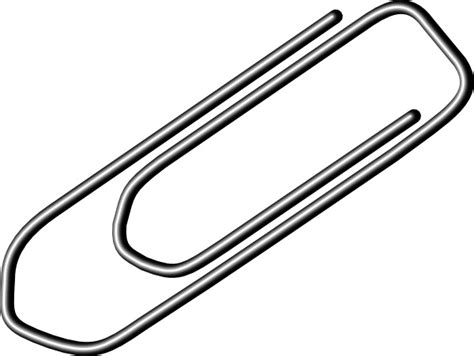 Paper Clip clip art Free vector in Open office drawing svg ... A-paper Clip Art