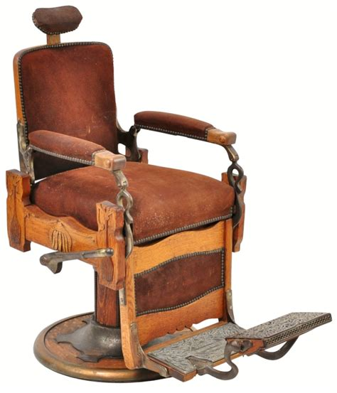 Antique Barber Chairs by Vintage Barbers Chair