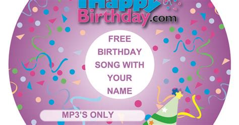 free happy birthday song with your name ready for free