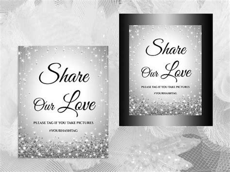 diy wedding sign templates free diy printable wedding hash tag sign template 2423401 weddbook