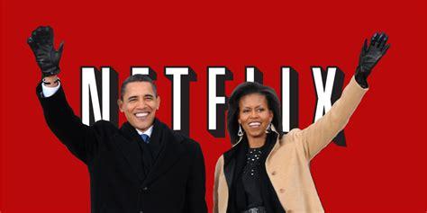 michelle obama netflix netflix barack michelle obama in talks to produce shows