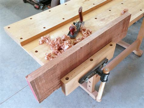 workbench vise mounting woodworkers journal