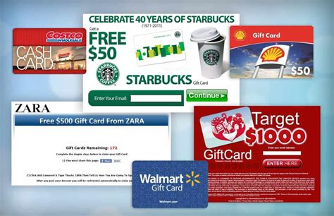 Costco Starbucks Gift Cards - free gift card scam detector
