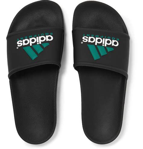 Murah Adidas Slip On Made In 03 adidas originals adilette rubber pool slides in black for lyst