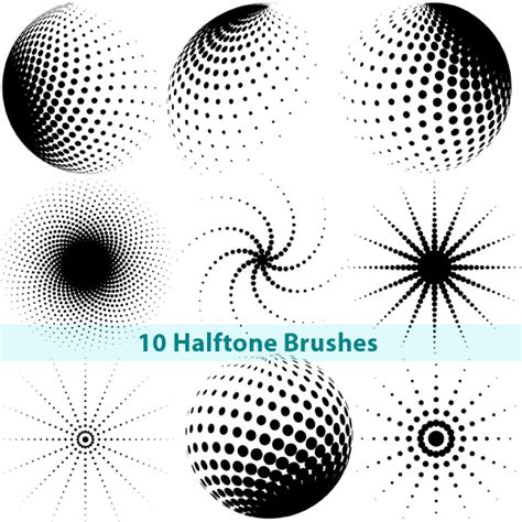 brushes for photoshop halftone photoshop brushes by brushportal