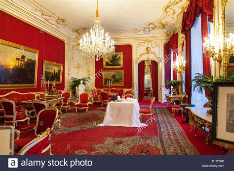 private royal apartments in the hofburg palace vienna