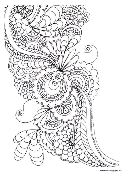 anti stress coloring pages free zen anti stress to print drawing flowers coloring