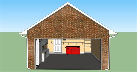 drawing of a house with garage design your garage layout or any other project in 3d for