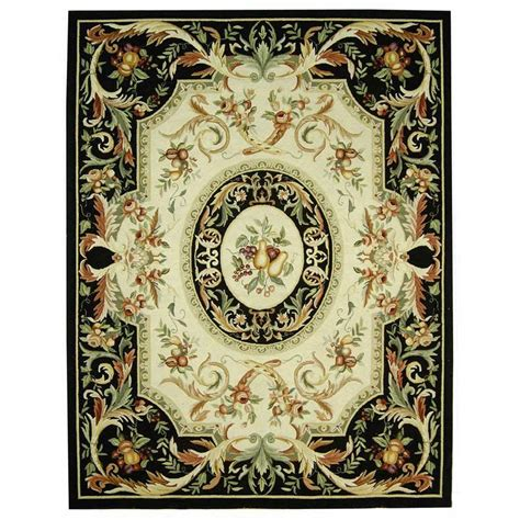 8 X 9 Area Rugs Safavieh Chelsea Black 7 Ft 9 In X 9 Ft 9 In Area Rug Hk80a 8 The Home Depot