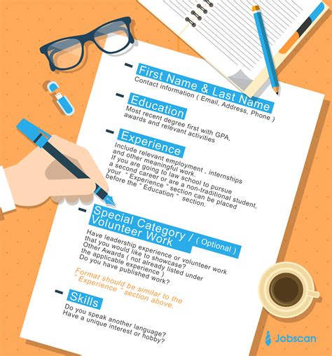 what resume template should i use resume templates guide jobscan