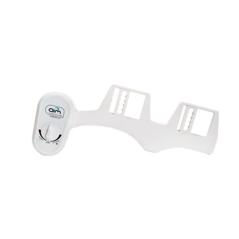 bidet wash aim to wash dual nozzle bidet attachment in white 90 7782