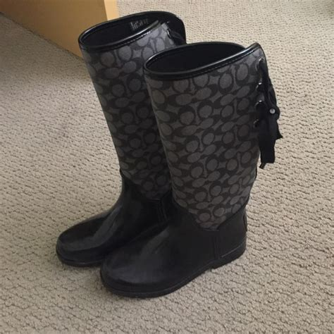 coach tristee boots 43 coach shoes coach tristee boots from