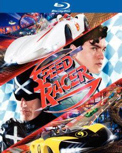 speed racer blu ray emile hirsch