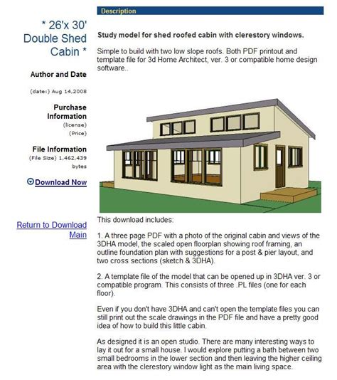 shed roof home plans shed roof design cabin planning shed roof