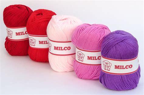 Benang Rajut New Milco 3 benang rajut milco crafts