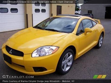 mitsubishi eclipse yellow eclipse yellow on 2011 mitsubishi sport coupe car
