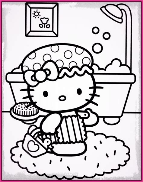 imagenes de hello kitty originales hermosos y originales dibujos kitty para colorear