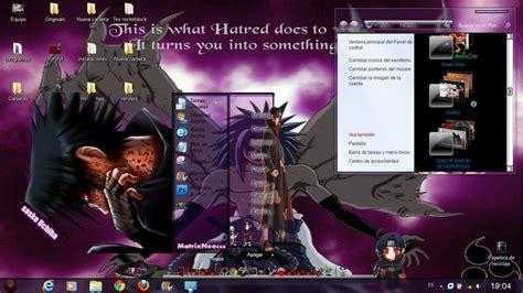 download theme windows 7 uchiha madara tema saske uchiha windows 7 by matrixneo666 on deviantart