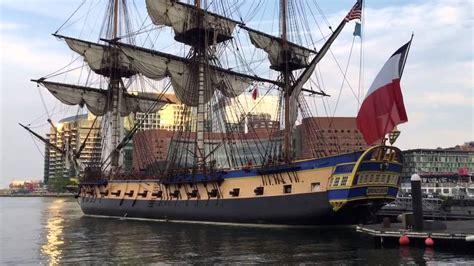 boston boat show june 2017 tall ships in boston harbor youtube