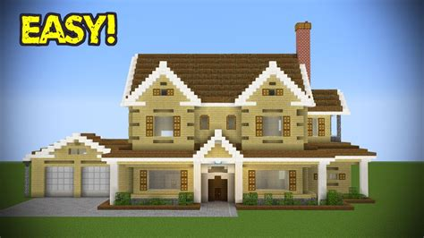 minecraft suburban house tutorial 動画あり minecraft large suburban house tutorial お役立ち動画