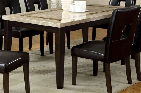 Lisbon I Marble Top Rectangular Leg Dining Table From Marble Top Rectangular Dining Table