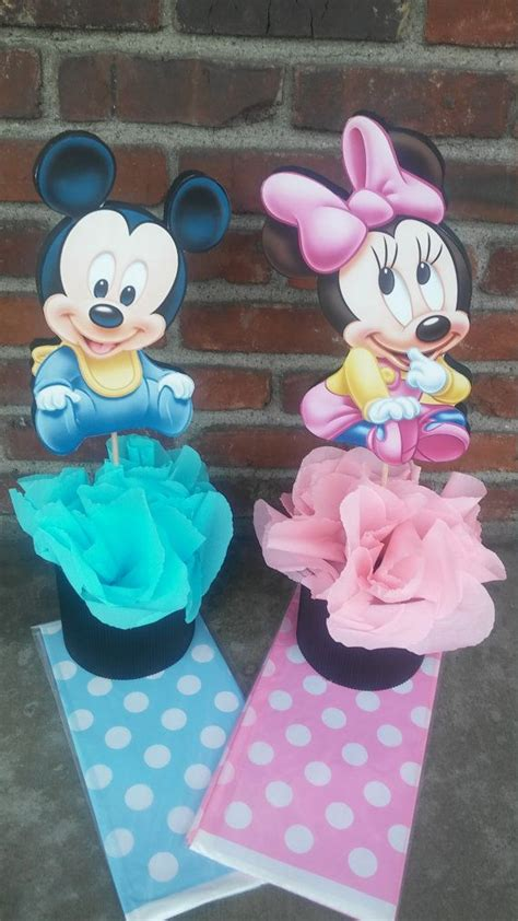 Minnie And Mickey Mouse Baby Shower by Disney Baby Mickey Mouse Or Minnie Mouse Centerpiece