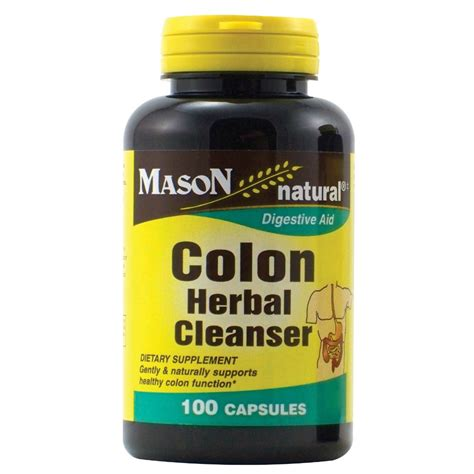 Jet Detox Supplements by Vitamins Colon Herbal Cleanser Capsules 100 Ct
