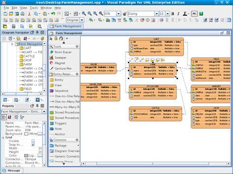 membuat erd dengan visual paradigm как нарисовать структуру базы данных general форум
