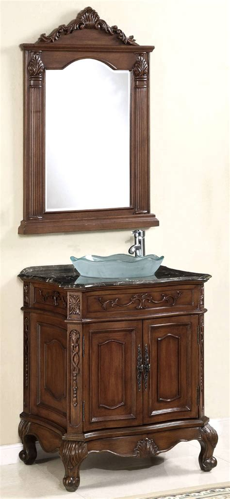 Vanity For Vessel Sinks by 29 Inch Vanity Set Vanity With Mirror Vessel Sink Vanity
