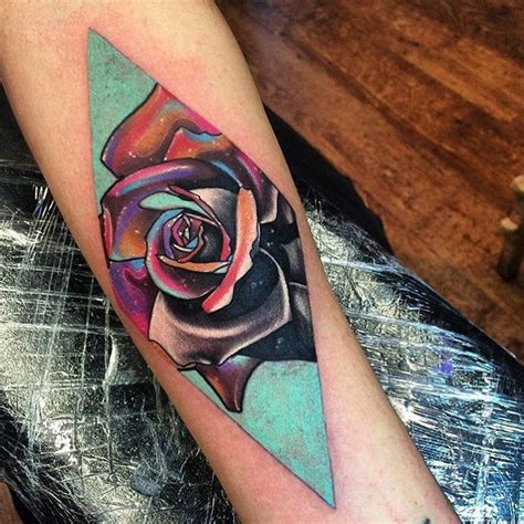 rose tattoo colors 25 best ideas about color tattoos on colorful