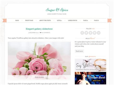 change layout of wordpress blog 15 free feminine wordpress themes 2018 athemes
